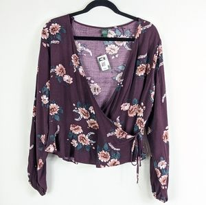 NWT Wild Fable Floral Long Sleeve Top Plus Size
